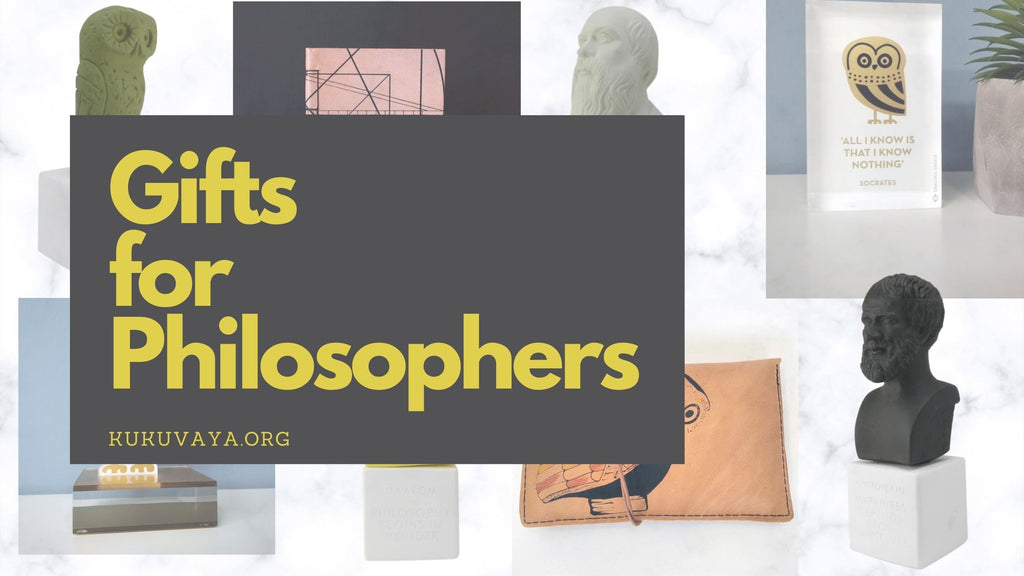 Collection of gifts for Philosophy lover, philosophy student, philosophy professor, philosopher and thinker