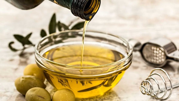 Greek extra virgin olive oil used for premium soap production