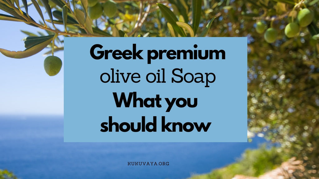 Greek olive oil soap is a premium product and best soap for your skin