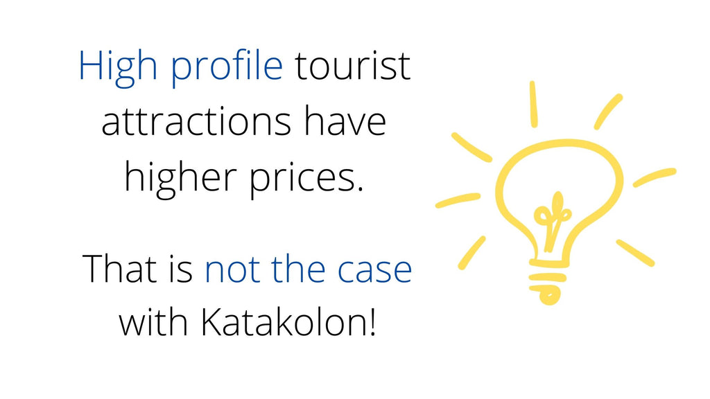 Katakolon has a great market with good prices and a variety of products