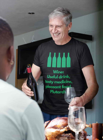 perfect t shirt for wine lover dinner party