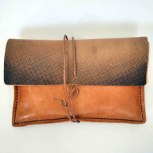 Load image into Gallery viewer, Aphrodite de Milo and Diadoumenos small leather tobacco pouch back