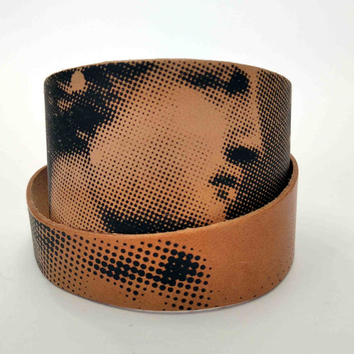 Aphrodite and Diadoumenos leather bracelet