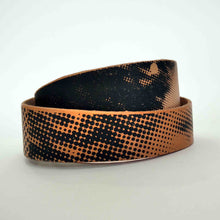 Load image into Gallery viewer, Aphrodite and Diadoumenos leather bracelet detail 2