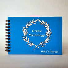 Load image into Gallery viewer, Greek mythology note book front