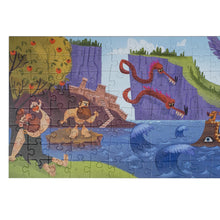 Load image into Gallery viewer, Odyssey puzzle 160 pieces educational puzzle left side