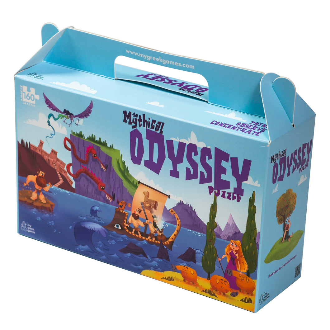 Odyssey puzzle 160 pieces educational box