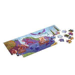 Odyssey puzzle 160 pieces educational while being made