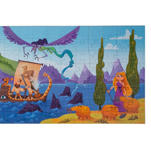 Odyssey puzzle 160 pieces educational puzzle right side