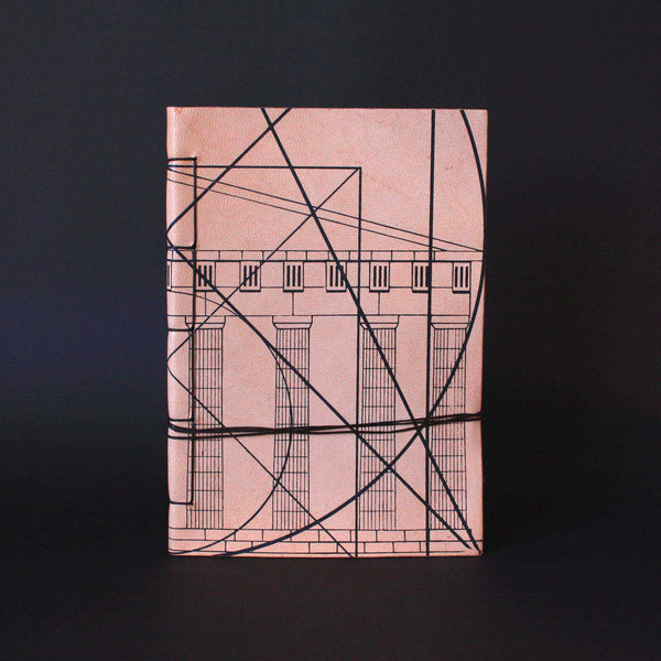 golden ratio leather notebook perfect gift idea for philosophy student and teacher
