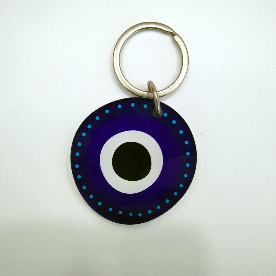 The evil eye keyring Greek handmade