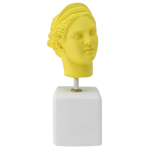 Female head - Lemon Bust of Artemis Goddess (front)