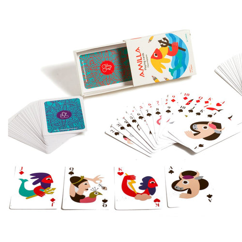 Greek mythology playing cards educational game