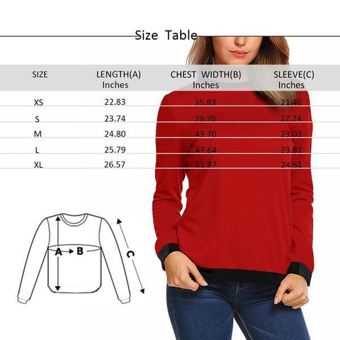 Custom Face Green Cube Women's Crewneck Sweatshirt customweekend