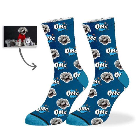 Custom Omg dog socks