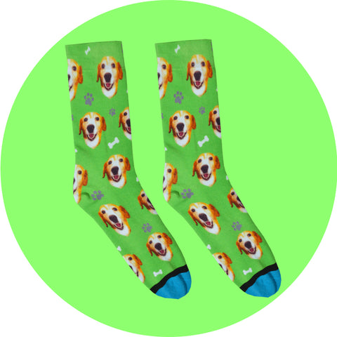 Custom Dog Socks