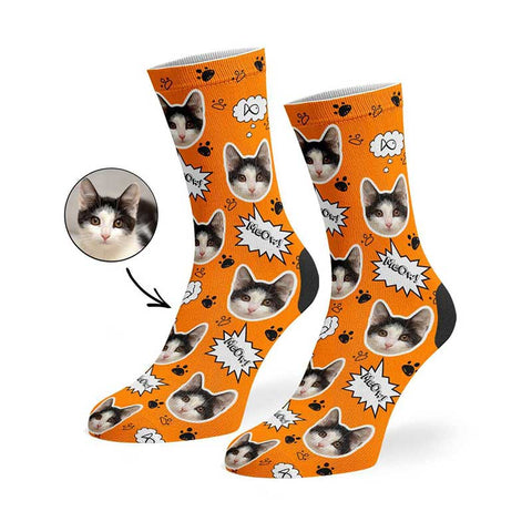 Your Cat Meow Socks