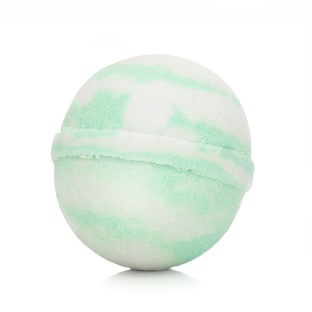 green apple bath bomb, apple bath bomb, cocoa butter, shea butter, bath bomb, shower, bath and body, aromatherapy, skin moisturizer, moisturizing, handmade bath bomb