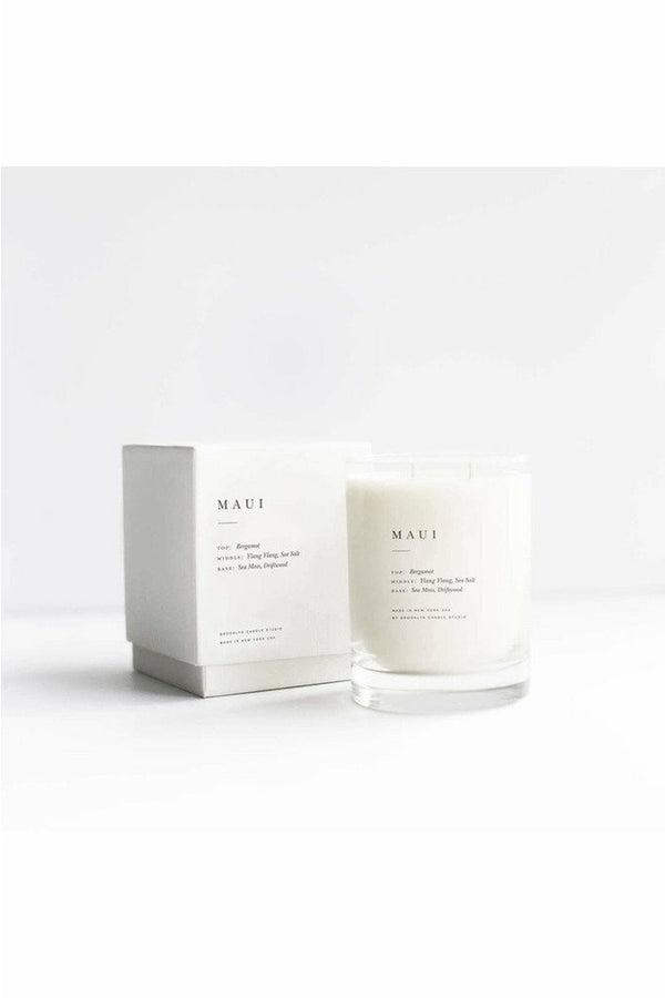 Brooklyn Candle Studio Brooklyn Candle - Maui Escapist Candle Antique White