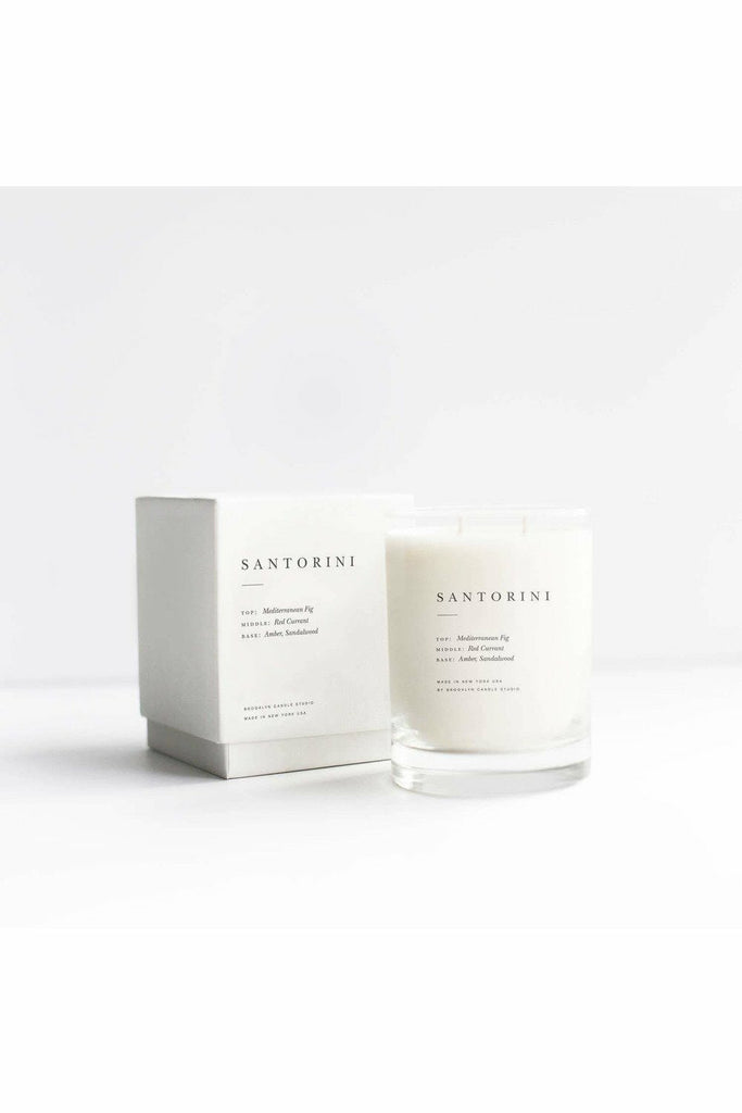Brooklyn Candle Studio Brooklyn Candle - Santorini Escapist Candle Gray
