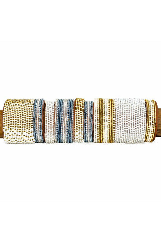 Swahili Coast Swahili Coast - Metallic Cuffs Collection Tan