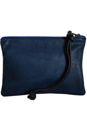 Spencer Devine - Small Assam Pouch. Navy