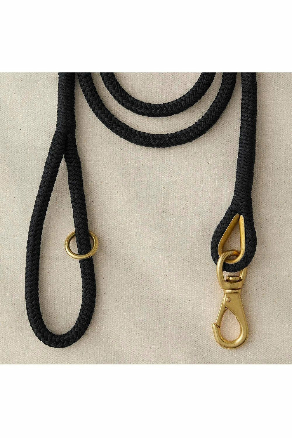 Black First Mate's Leash