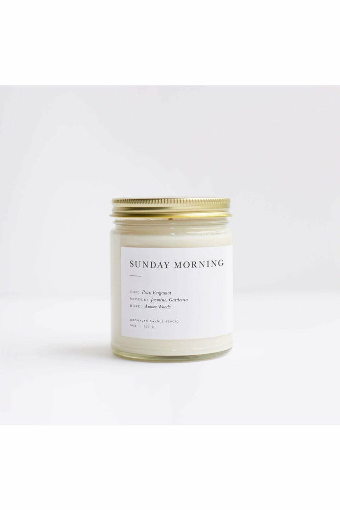 Brooklyn Candle Studio Brooklyn Candle - Sunday Morning Minimalist Candle Lavender