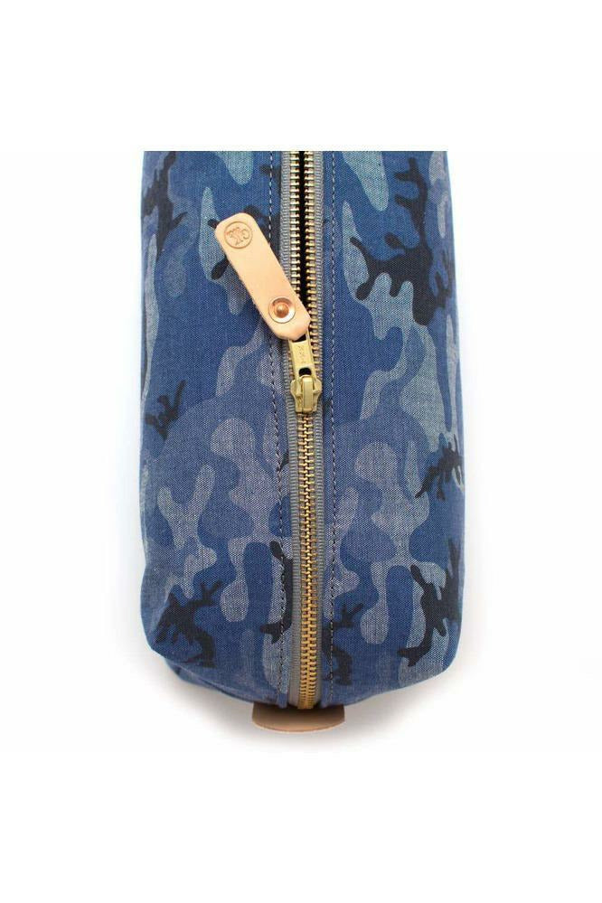 General Knot General Knot - Chambray Camo Travel Kit Dark Slate Blue