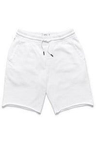 Surfside Surfside - Sailor Drawstring Terry Short - White White Smoke