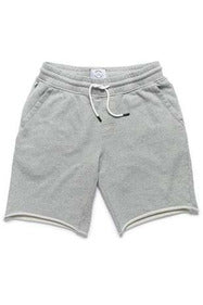 Surfside Surfside - Sailor Drawstring Terry Short - Heather Grey Gray