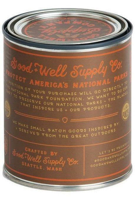 Good & Well Supply Co. Good & Well - Cuyahoga Valley Candle - Ripe Pumpkin, Cinnamon + Spices Sienna