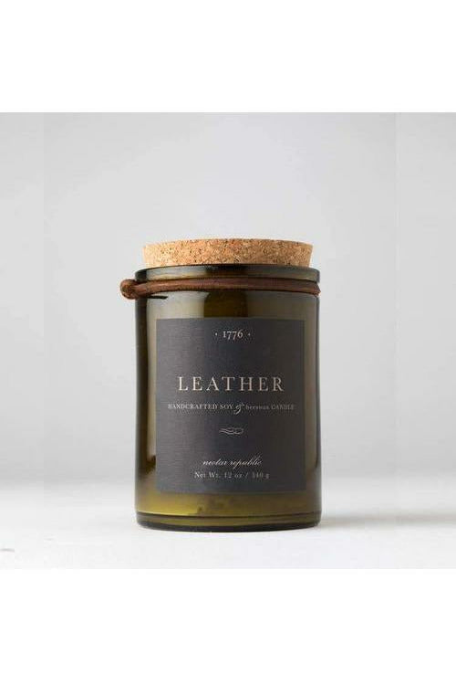 Nectar Republic - Leather : 1776 Candle