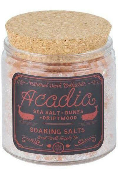 Good & Well Supply Co. Good & Well - Acadia Bath Salts Tan
