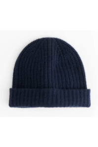 Alex Mill Alex Mill - Cashmere Beanie - Navy Black