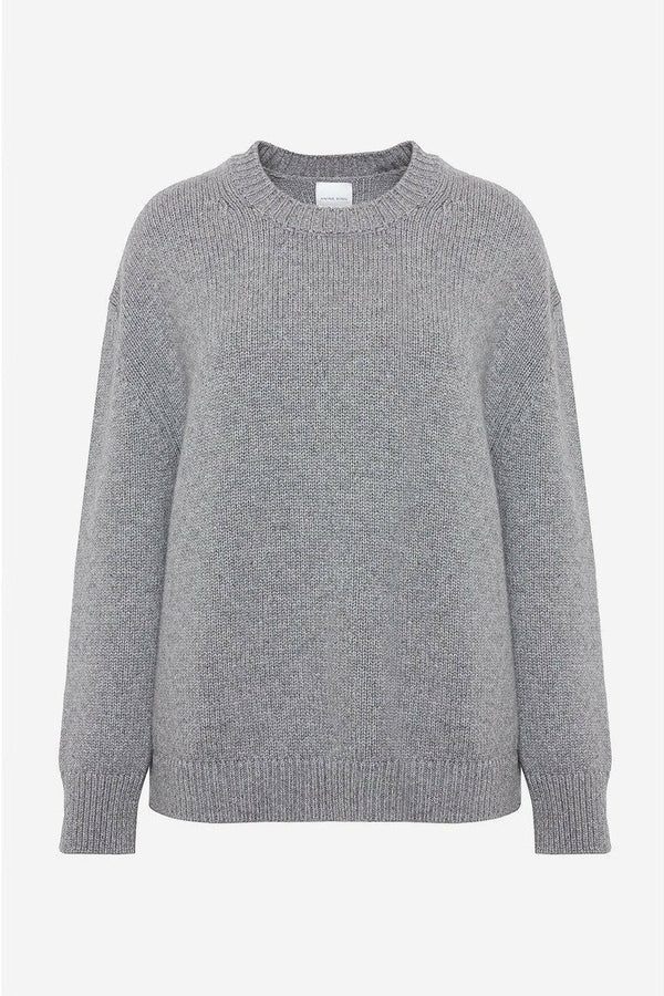 ANINE BING Anine Bing - Rosie Sweater - Grey Dark Gray
