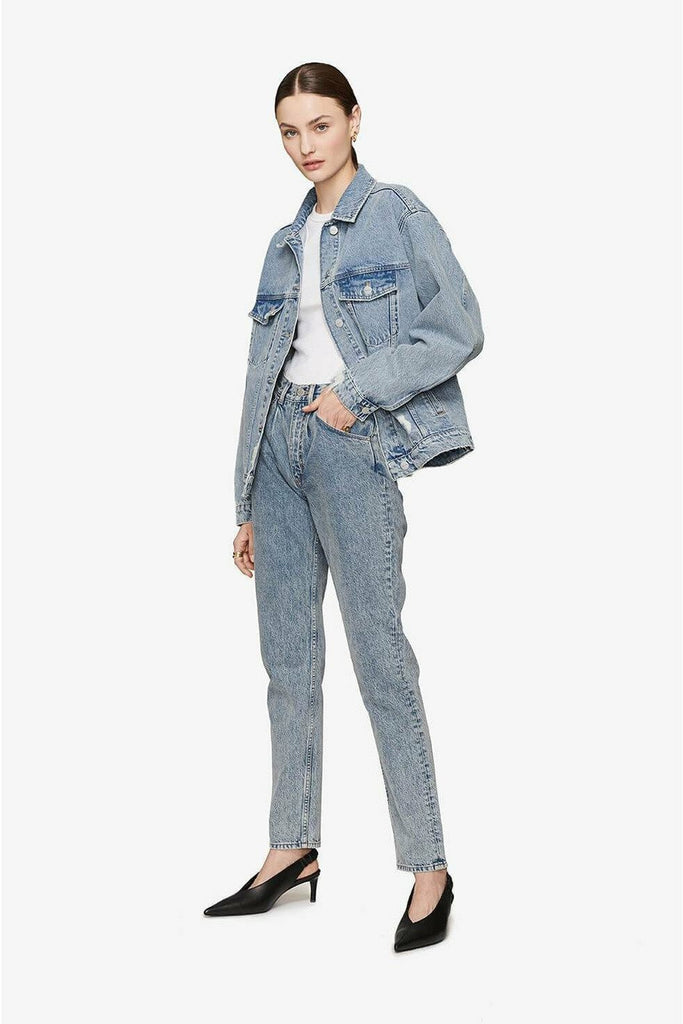 ANINE BING Anine Bing - Rory Jacket - Vintage Blue Light Slate Gray