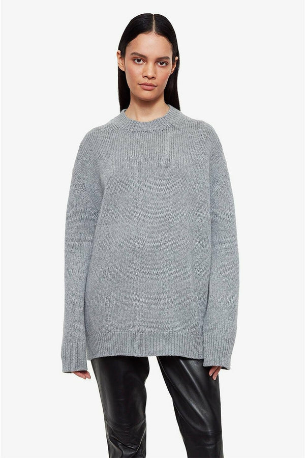 ANINE BING Anine Bing - Rosie Sweater - Grey White Smoke