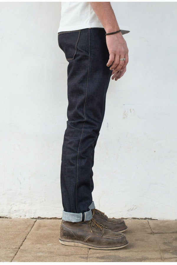 Freenote Cloth Freenote Cloth - 14.5 Oz Kaihara Denim - Rios Dark Slate Gray