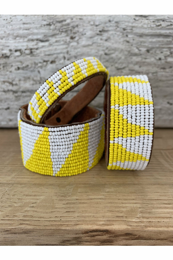 Swahili Coast Swahili Coast - Tri Yellow Cuff Goldenrod