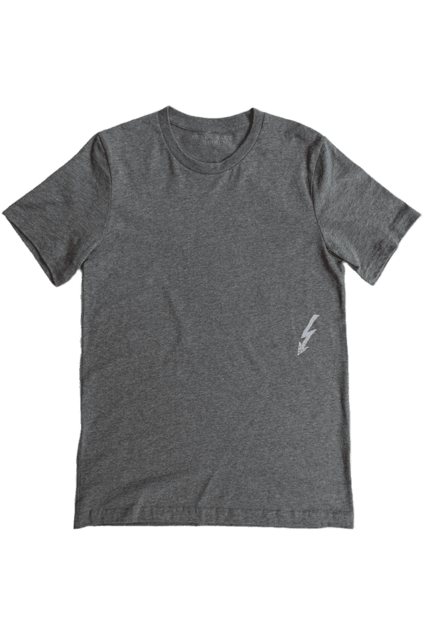 Dune and Salt D+S - WCH Men's Banner Tee - Charcoal Heather Dim Gray