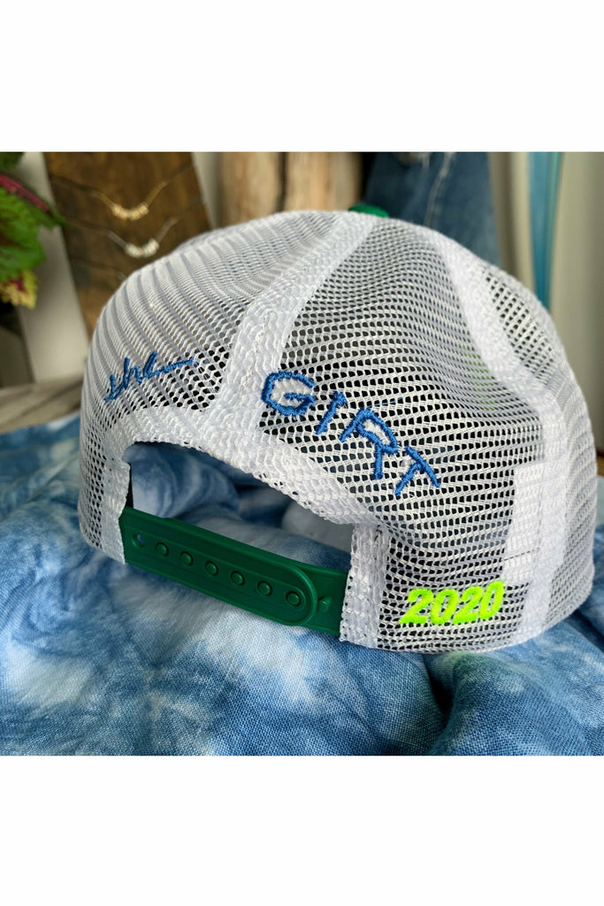 The Girt The Girt - Bolt New Era Trucker Hat Dark Gray