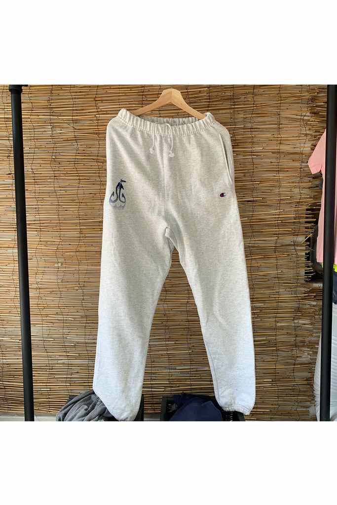 The Girt The Girt - SG Champion Sweatpants - Silver Gray Gray