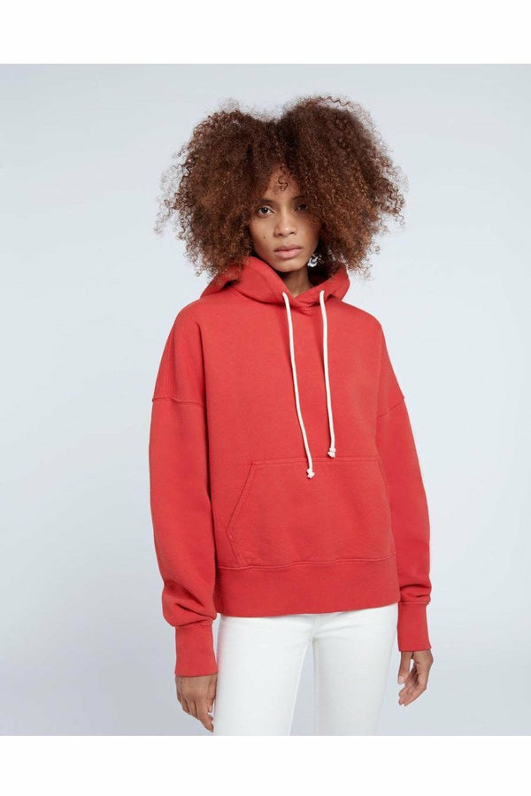 Re/Done Re/Done - Classic Hoodie - Vintage Red Lavender