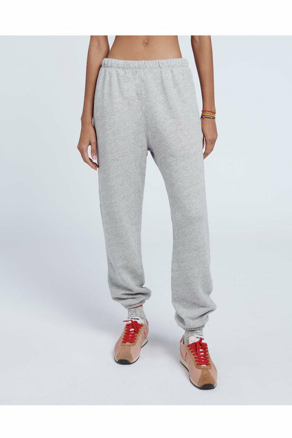 Re/Done Re/Done - 80s Sweatpants - Heather Grey Gray
