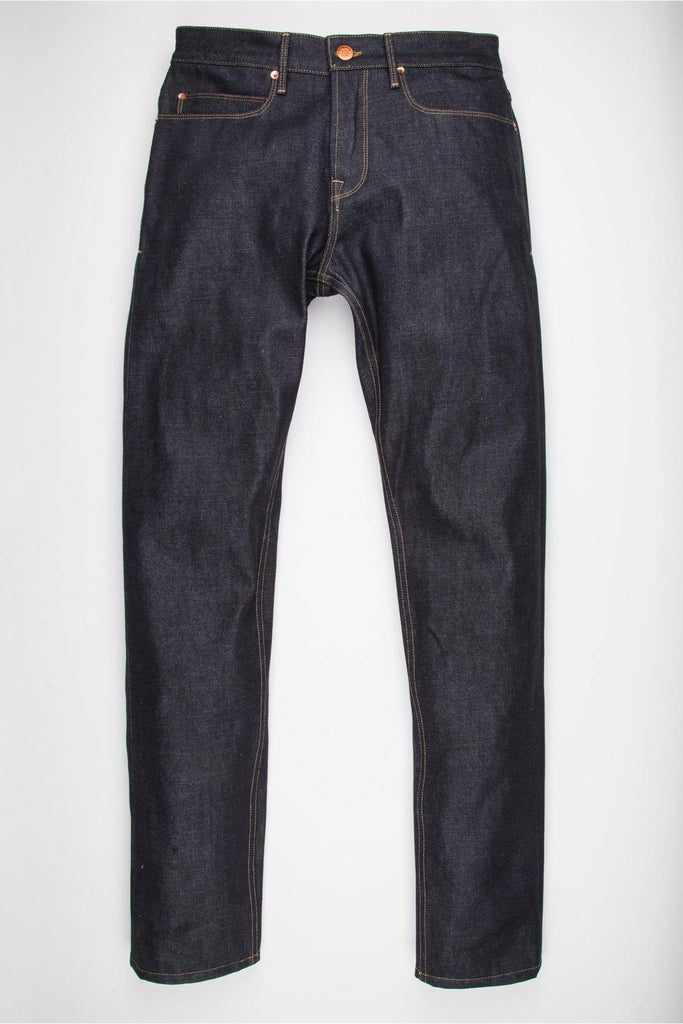 Freenote Cloth Freenote Cloth - 14.5 Oz Kaihara Denim - Portola Classic Taper Dark Slate Gray
