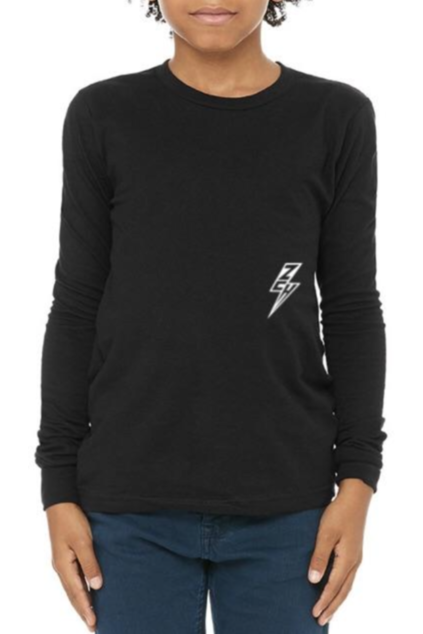 ZCH ZCH - Youth - Essentials L/S Tee - Black Black