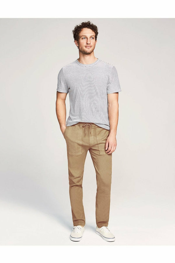 Faherty Faherty - Traveler Pant - Desert Sand Rosy Brown