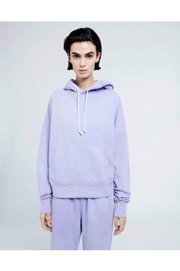 Re/Done Re/Done - Classic Hoodie - Faded Orchid Lavender