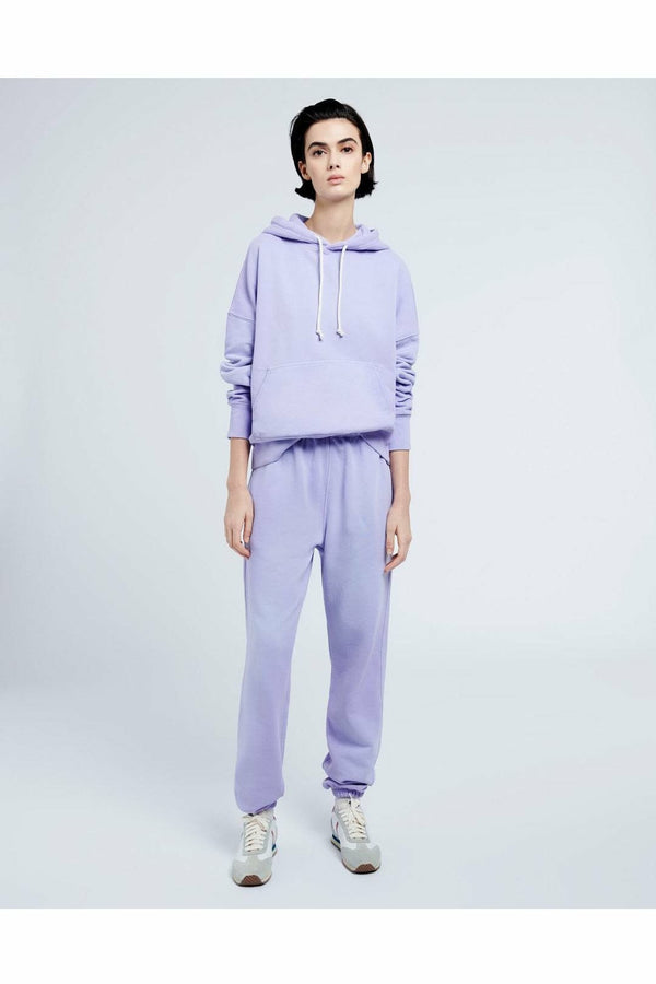 Re/Done Re/Done - 80s Sweatpants - Faded Orchid Light Steel Blue